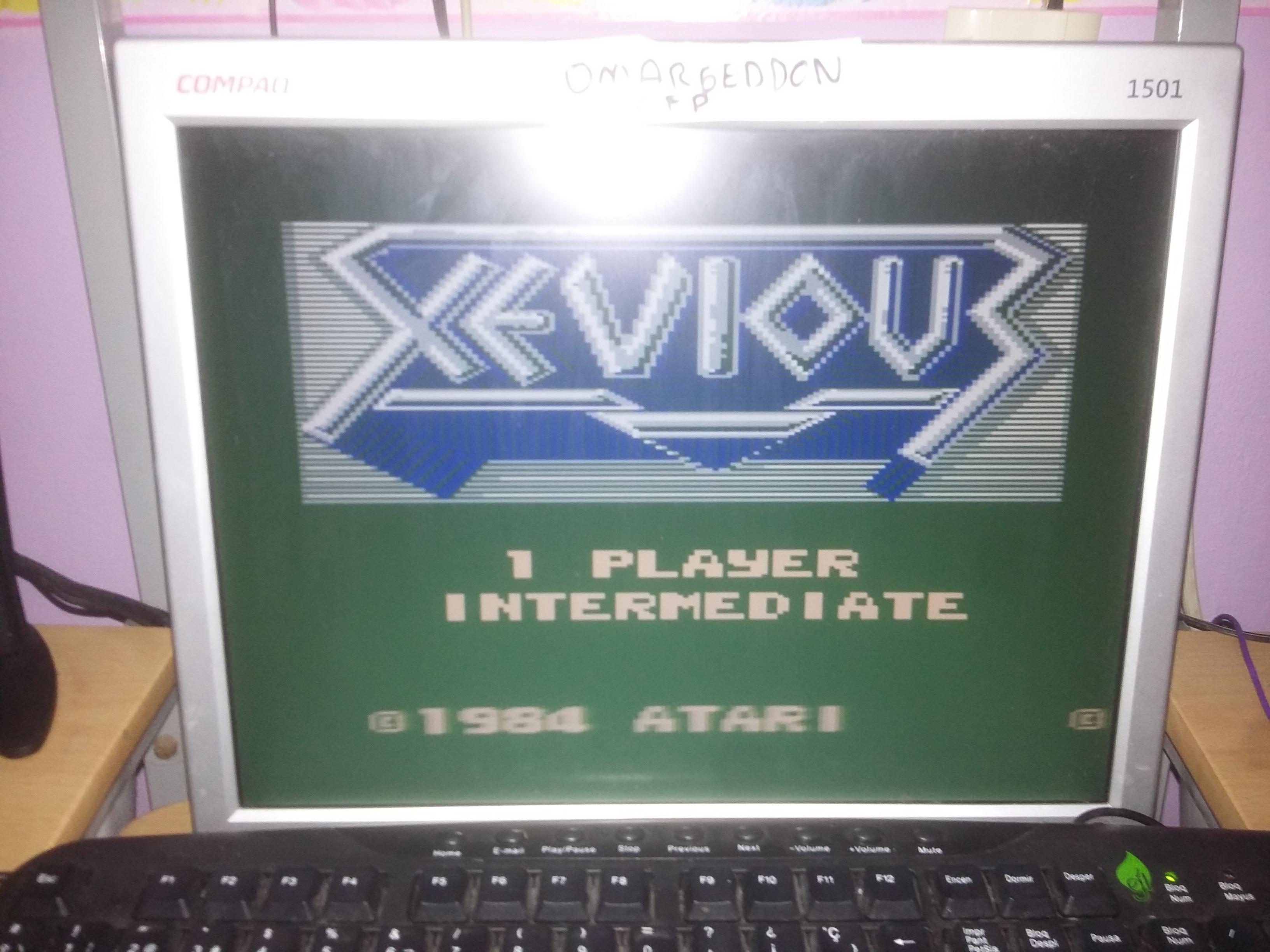 omargeddon: Xevious: Intermediate (Atari 7800 Emulated) 34,410 points on 2017-01-09 10:10:00