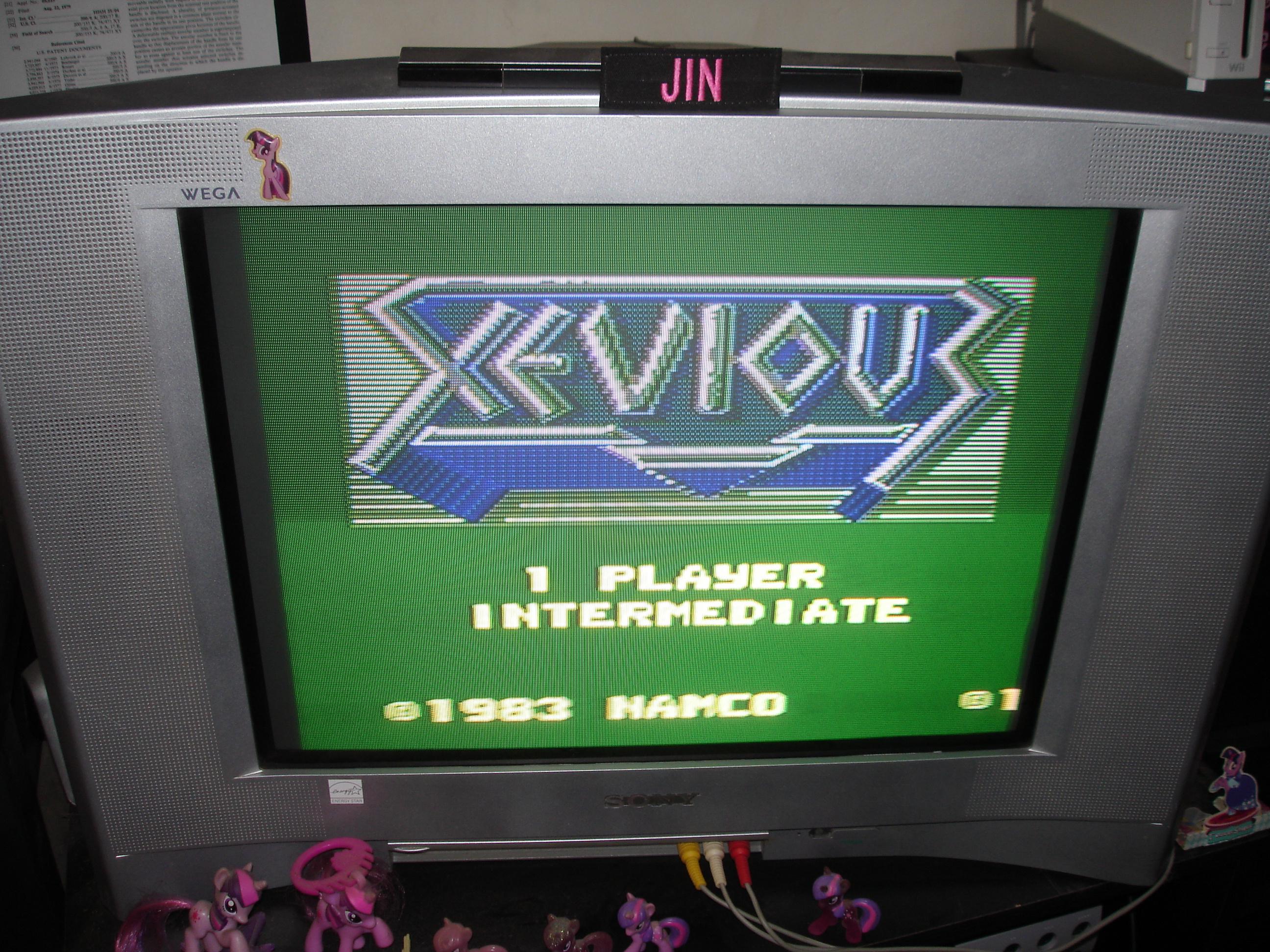 Xevious: Intermediate 291,150 points
