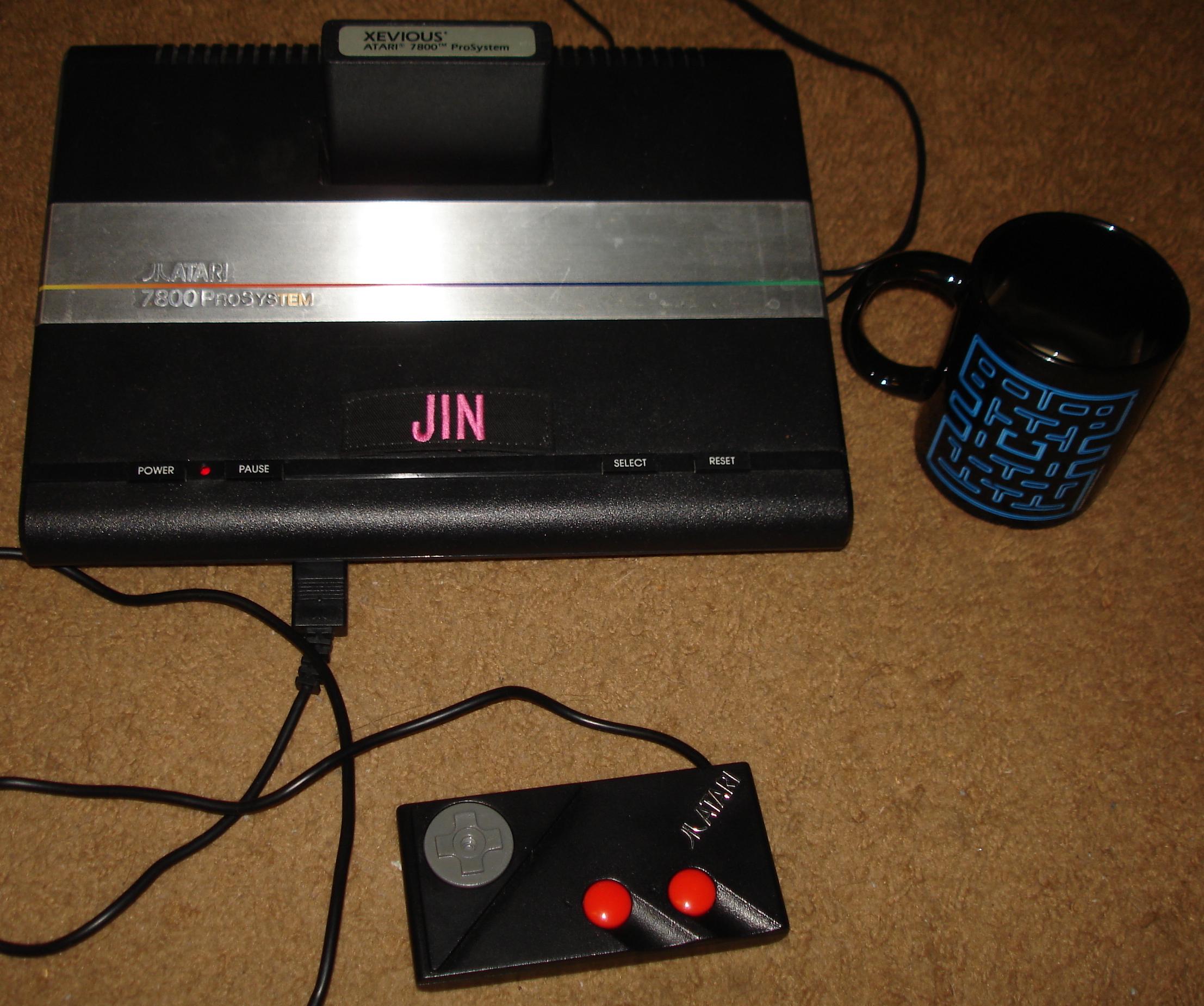 Jin: Xevious: Intermediate (Atari 7800) 291,150 points on 2017-12-09 18:14:11