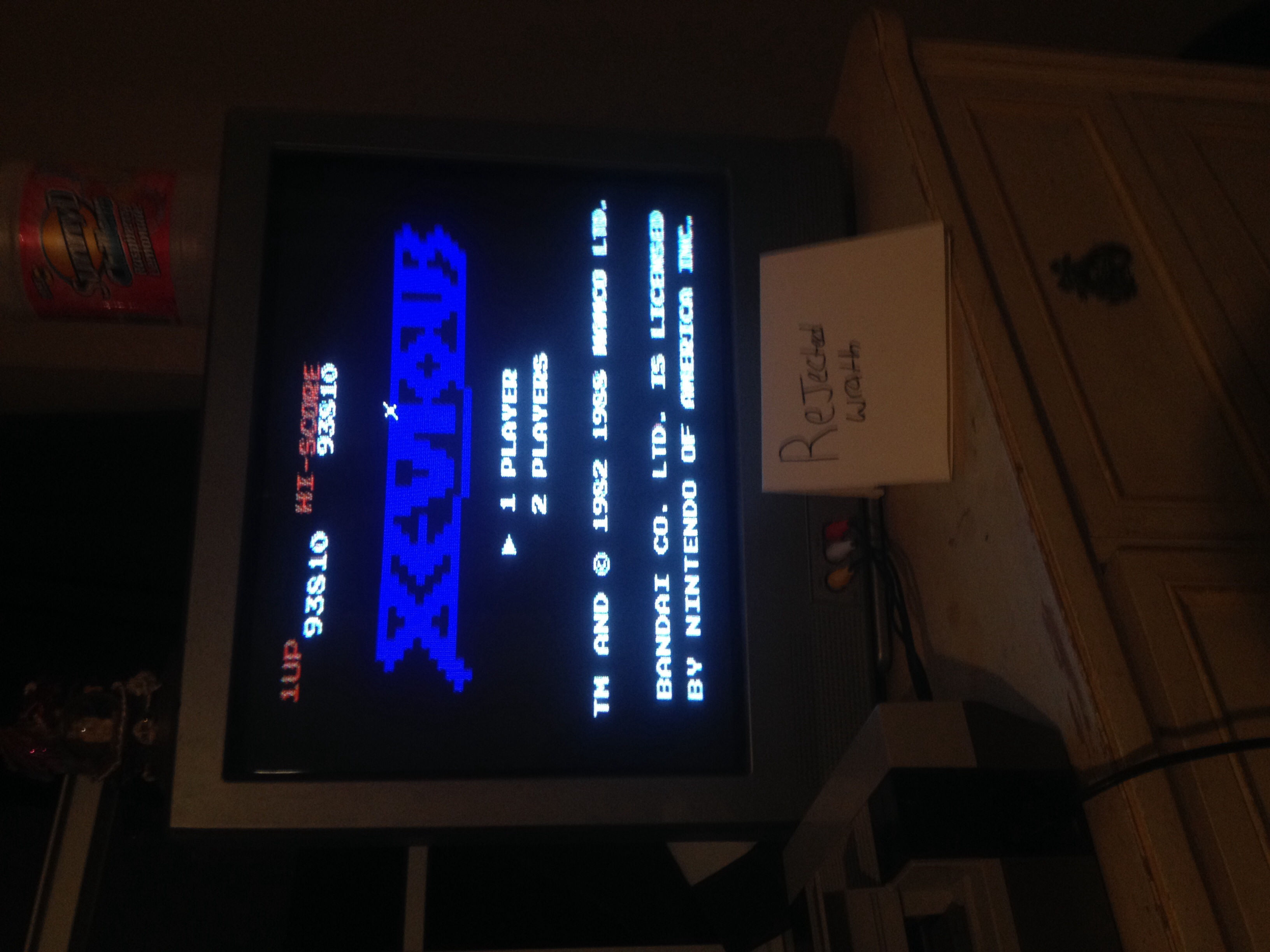 Rejectedwrath: Xevious (NES/Famicom) 93,810 points on 2015-08-01 20:44:48