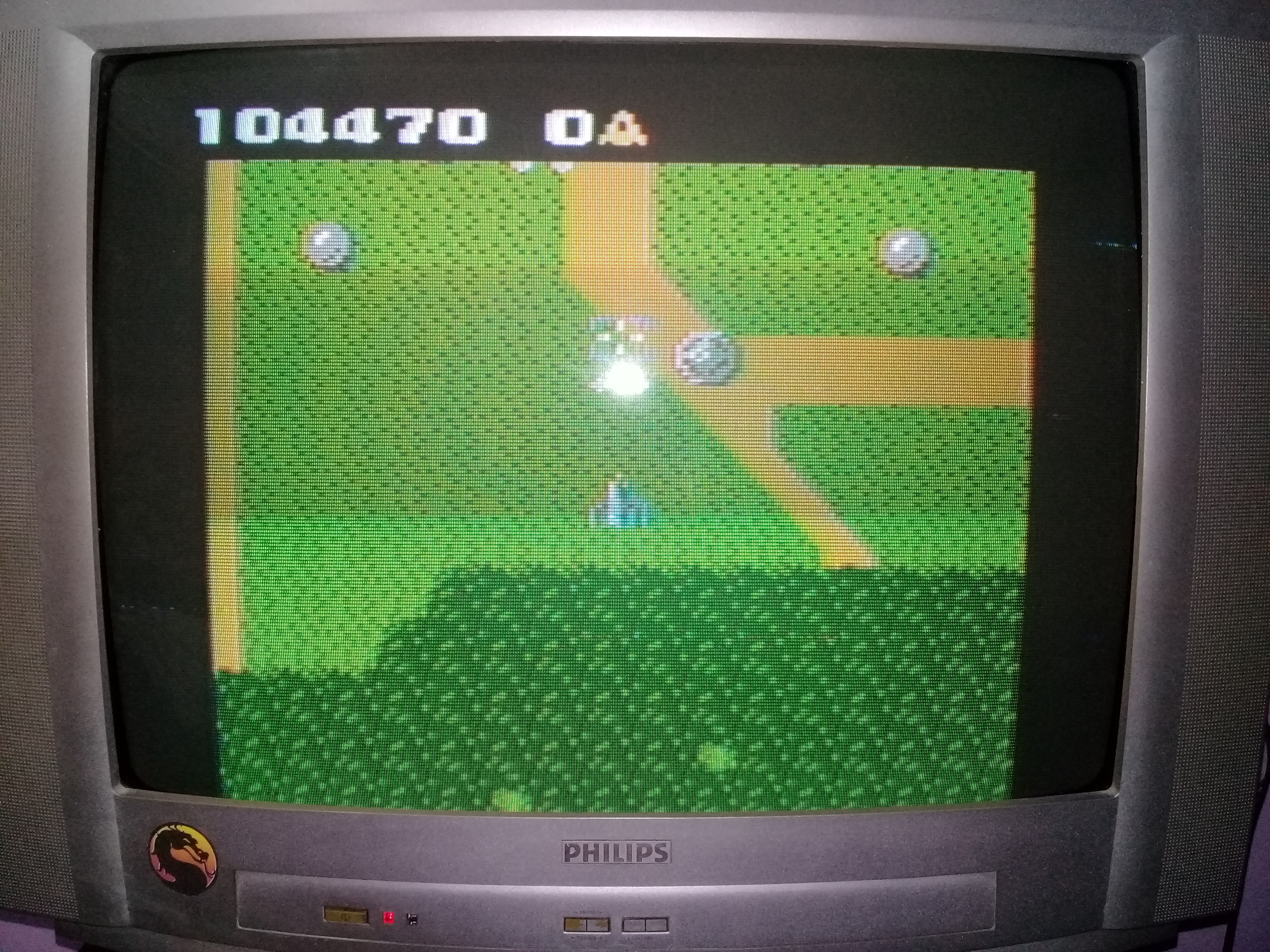 omargeddon: Xevious: Novice (Atari 7800) 104,470 points on 2020-09-12 21:22:06