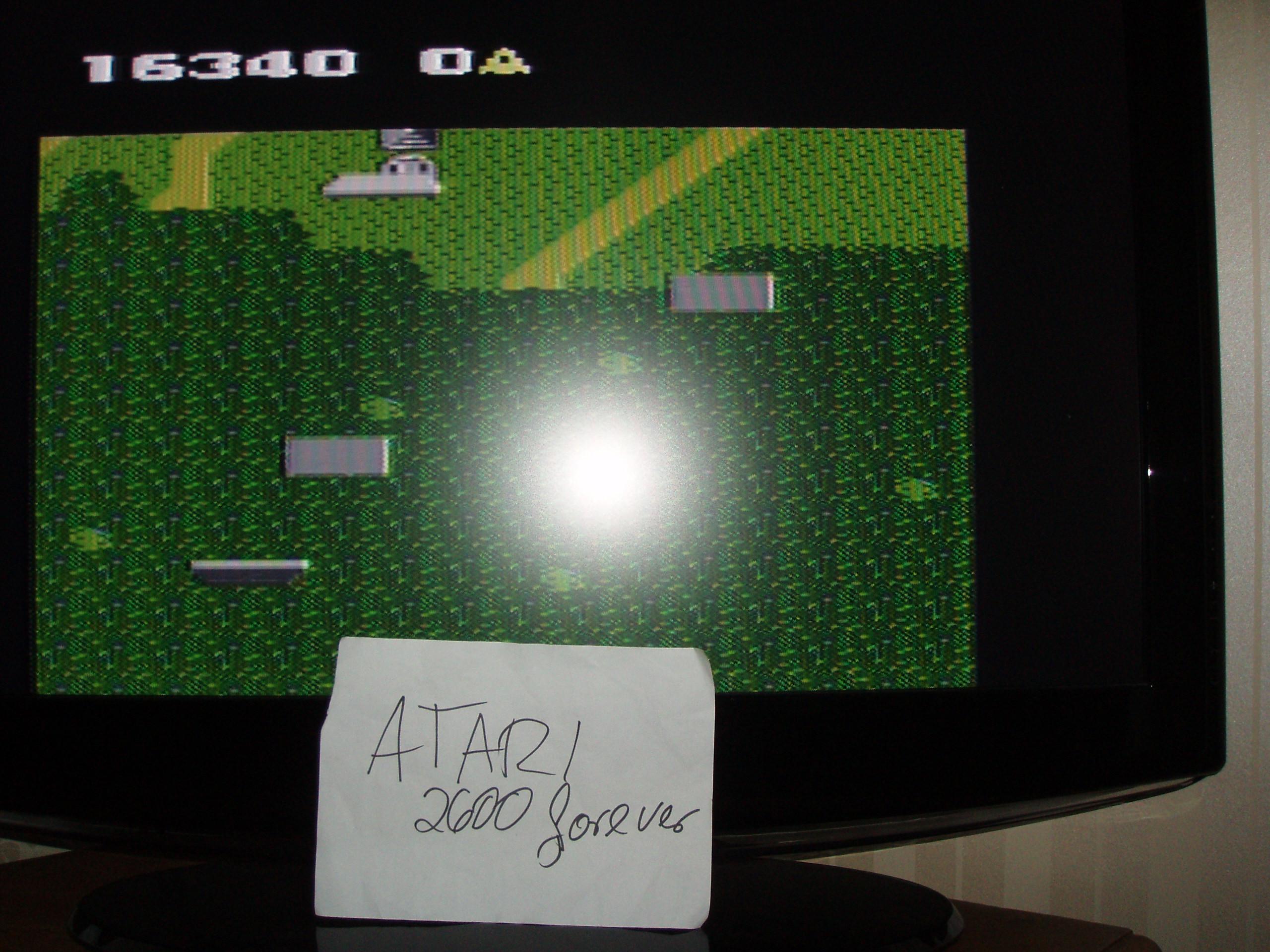 atari2600forever: Xevious: Novice (Atari 7800) 16,340 points on 2018-06-14 03:18:52