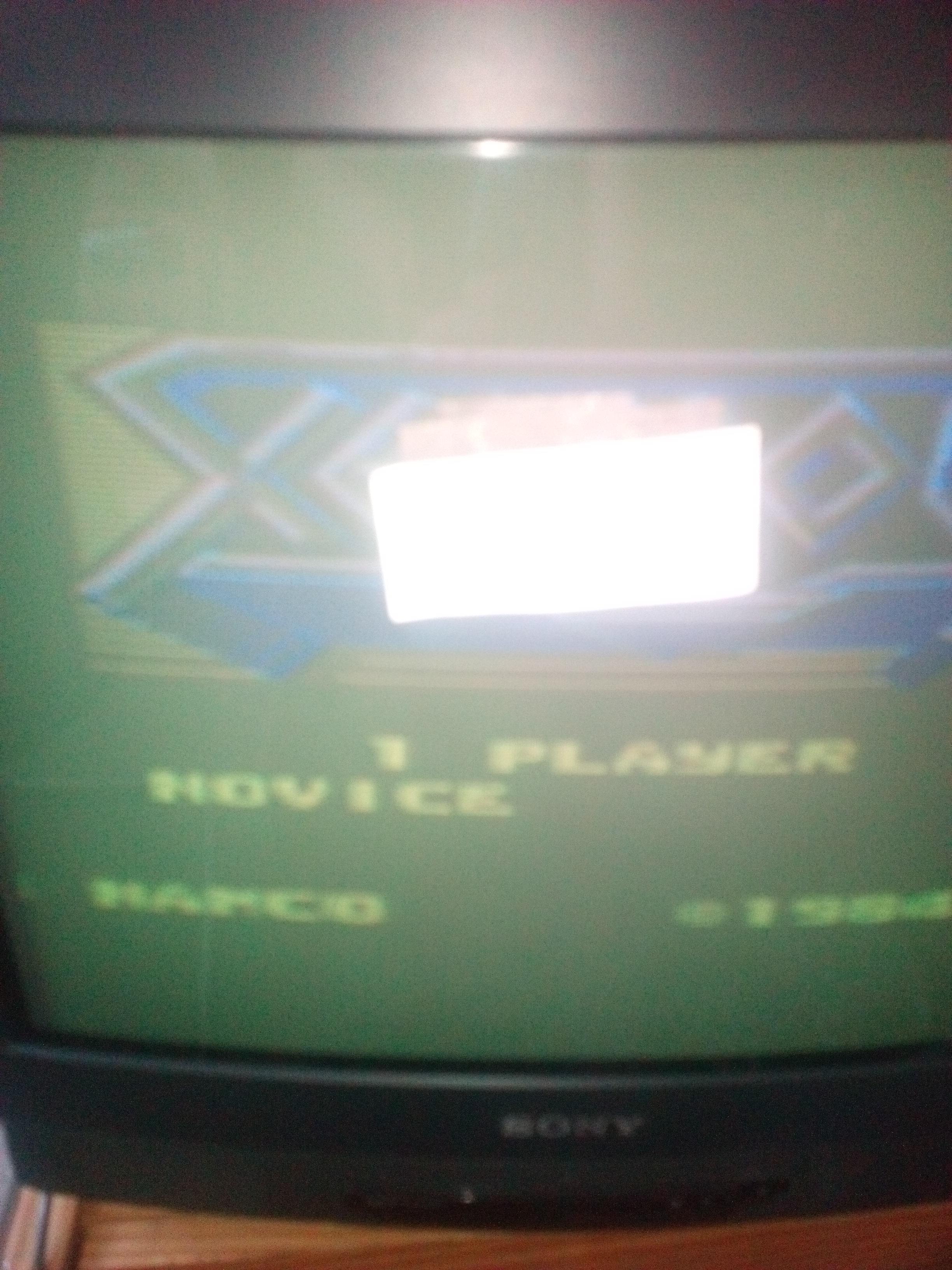 Xevious: Novice 19,440 points