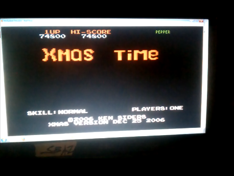 S.BAZ: Xmas Time: Normal (Atari 7800 Emulated) 74,800 points on 2016-09-22 15:31:00