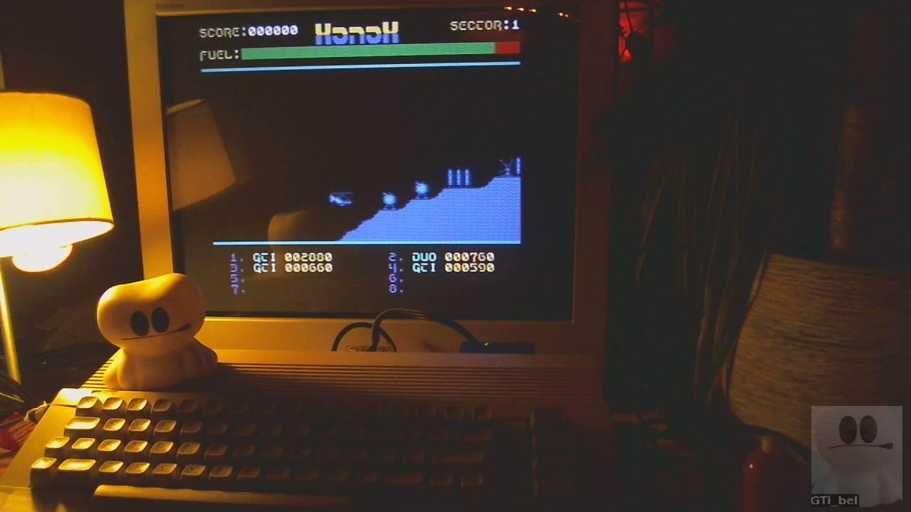GTibel: Xonox (Commodore 64) 2,880 points on 2020-01-28 15:40:44