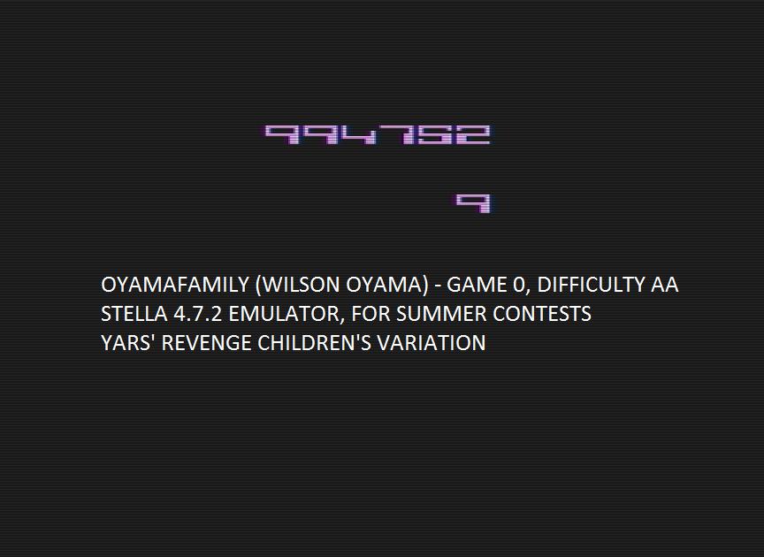oyamafamily: Yars