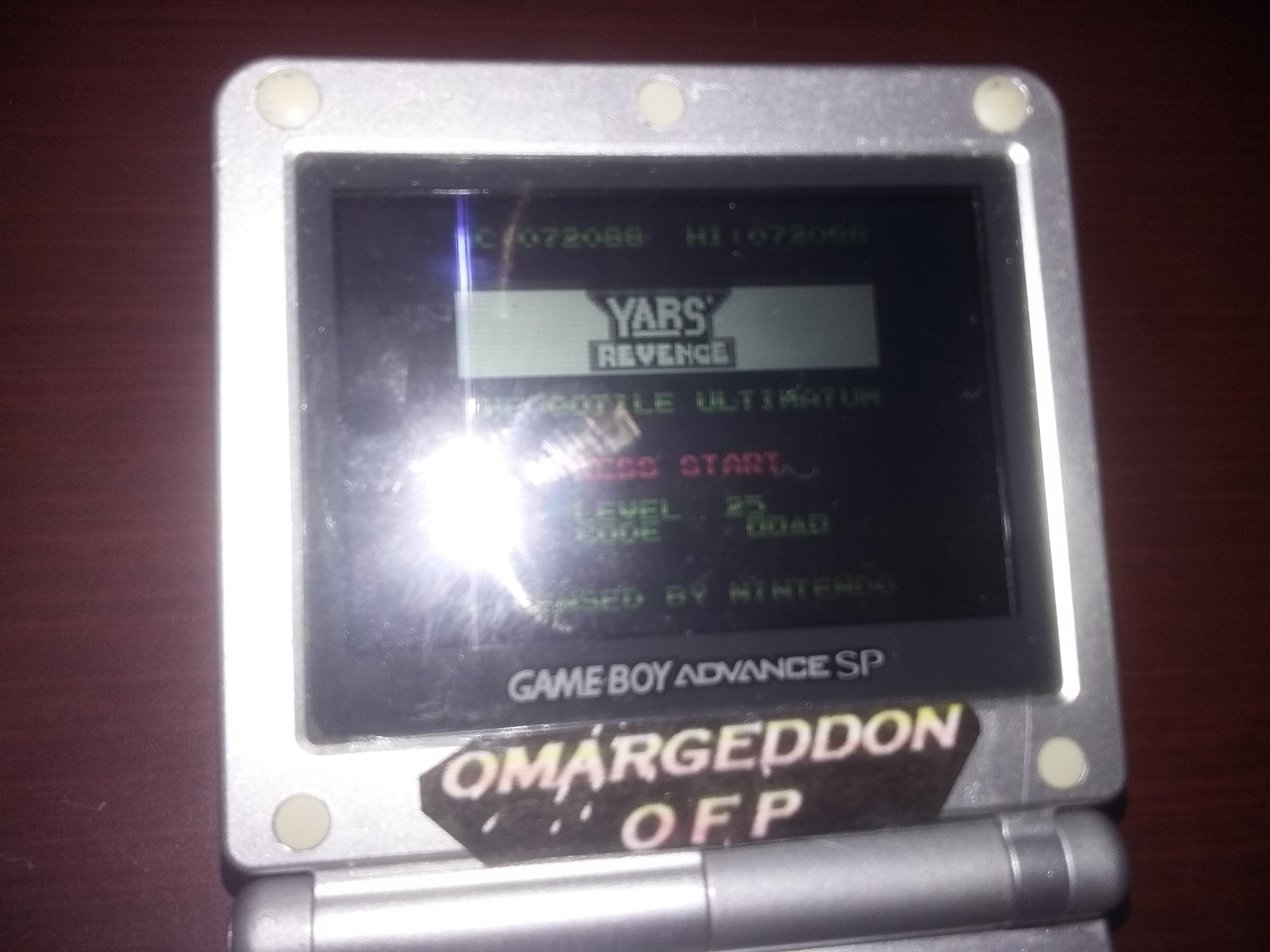 omargeddon: Yars