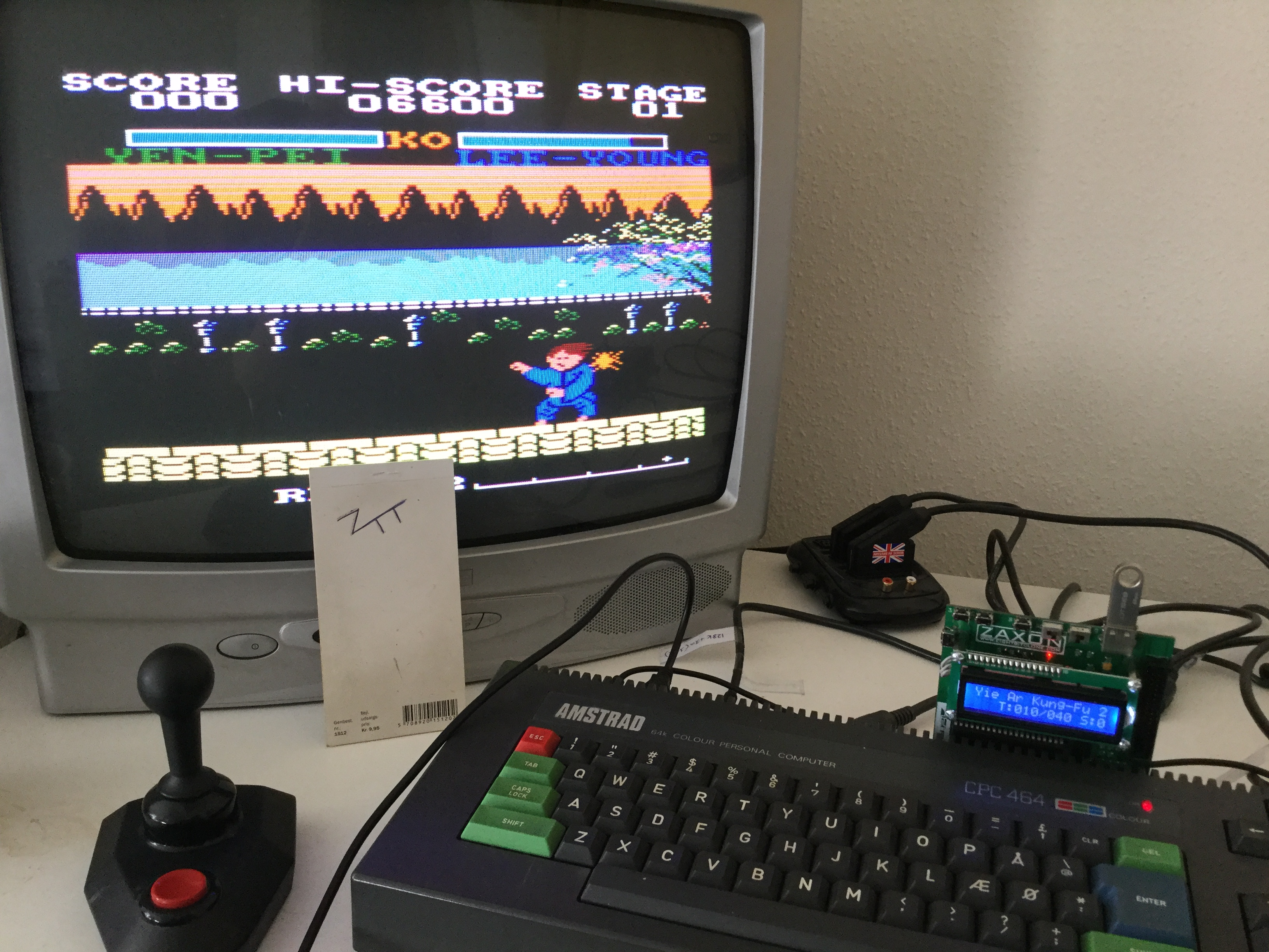 Frankie: Yie Ar Kung-Fu 2 (Amstrad CPC) 6,600 points on 2017-04-09 03:07:19