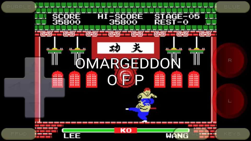 omargeddon: Yie Ar Kung Fu (Colecovision Emulated) 35,800 points on 2016-11-06 15:26:46