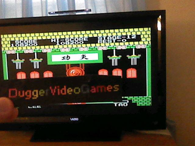 DuggerVideoGames: Yie Ar Kung Fu (Colecovision Emulated) 108,200 points on 2017-07-26 23:50:54