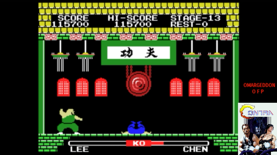 omargeddon: Yie Ar Kung Fu (Colecovision Emulated) 115,700 points on 2017-07-28 00:04:33