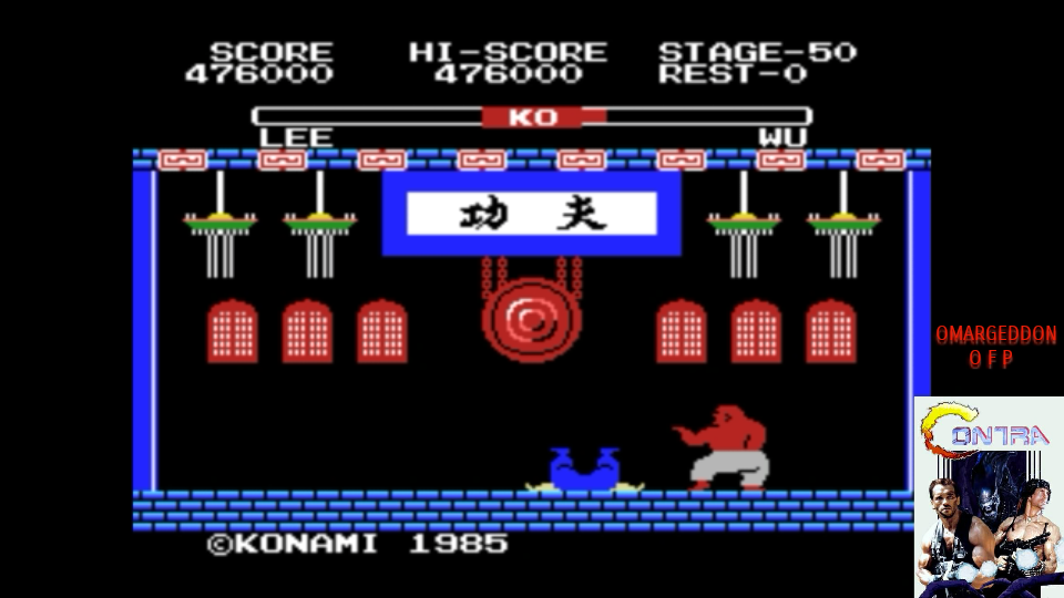 omargeddon: Yie Ar Kung-Fu (MSX Emulated) 476,000 points on 2017-07-25 13:18:40