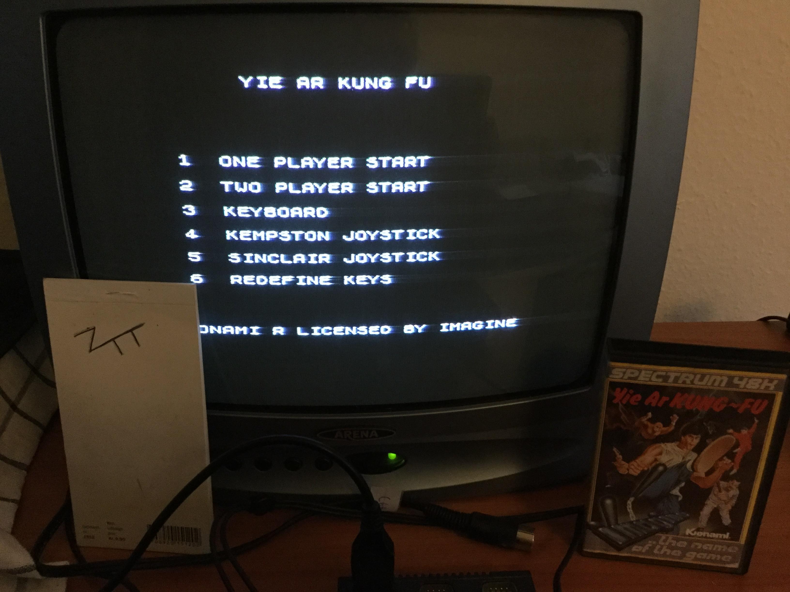 Frankie: Yie Ar Kung-Fu (ZX Spectrum) 56,500 points on 2016-12-21 02:37:35