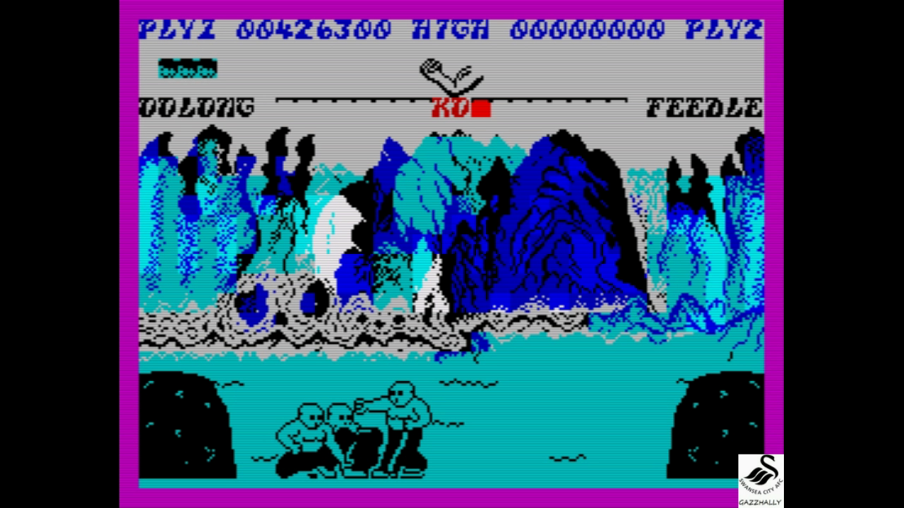 gazzhally: Yie Ar Kung-Fu (ZX Spectrum Emulated) 426,300 points on 2017-07-09 18:44:45
