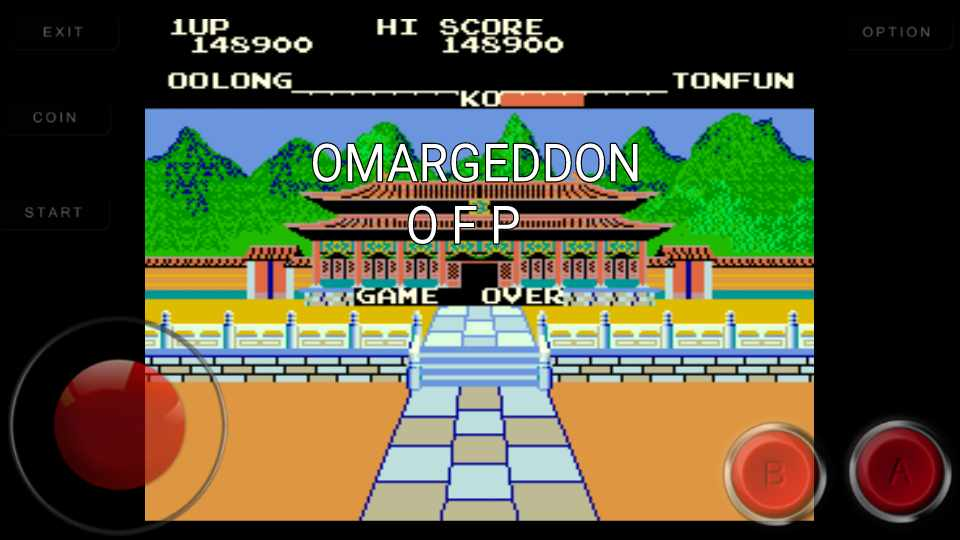 omargeddon: Yie Ar Kung Fu [yiear] (Arcade Emulated / M.A.M.E.) 148,900 points on 2016-11-01 00:56:45