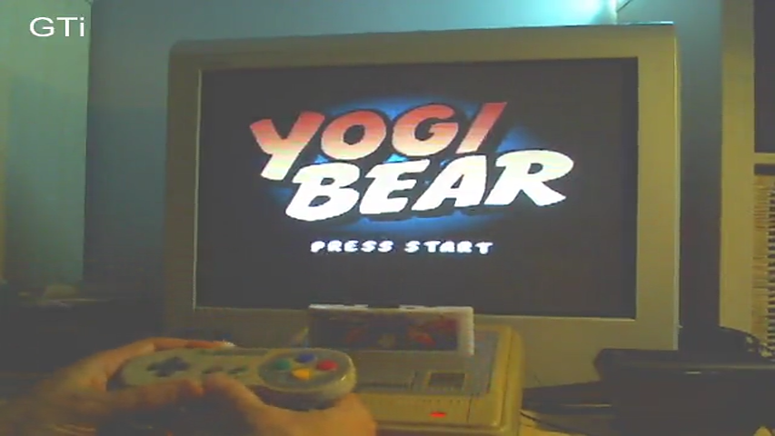 GTibel: Yogi Bear [100000*Stage Completed+Final Score] (SNES/Super Famicom) 608,780 points on 2016-10-09 14:30:14
