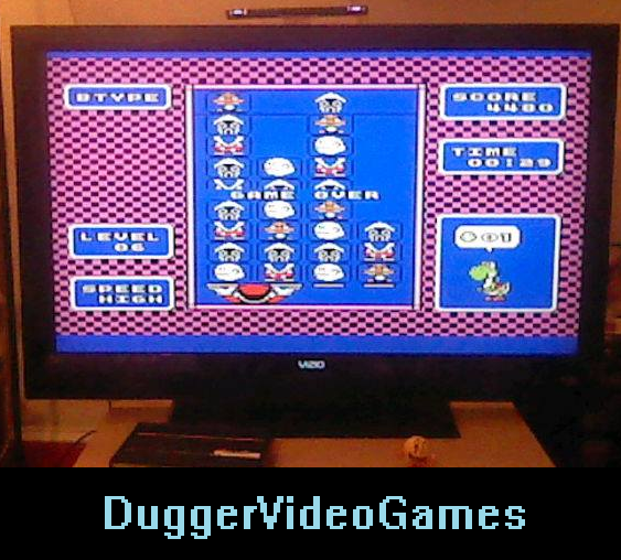 DuggerVideoGames: Yoshi [B Type/High Speed] (NES/Famicom Emulated) 4,480 points on 2016-04-01 02:13:36