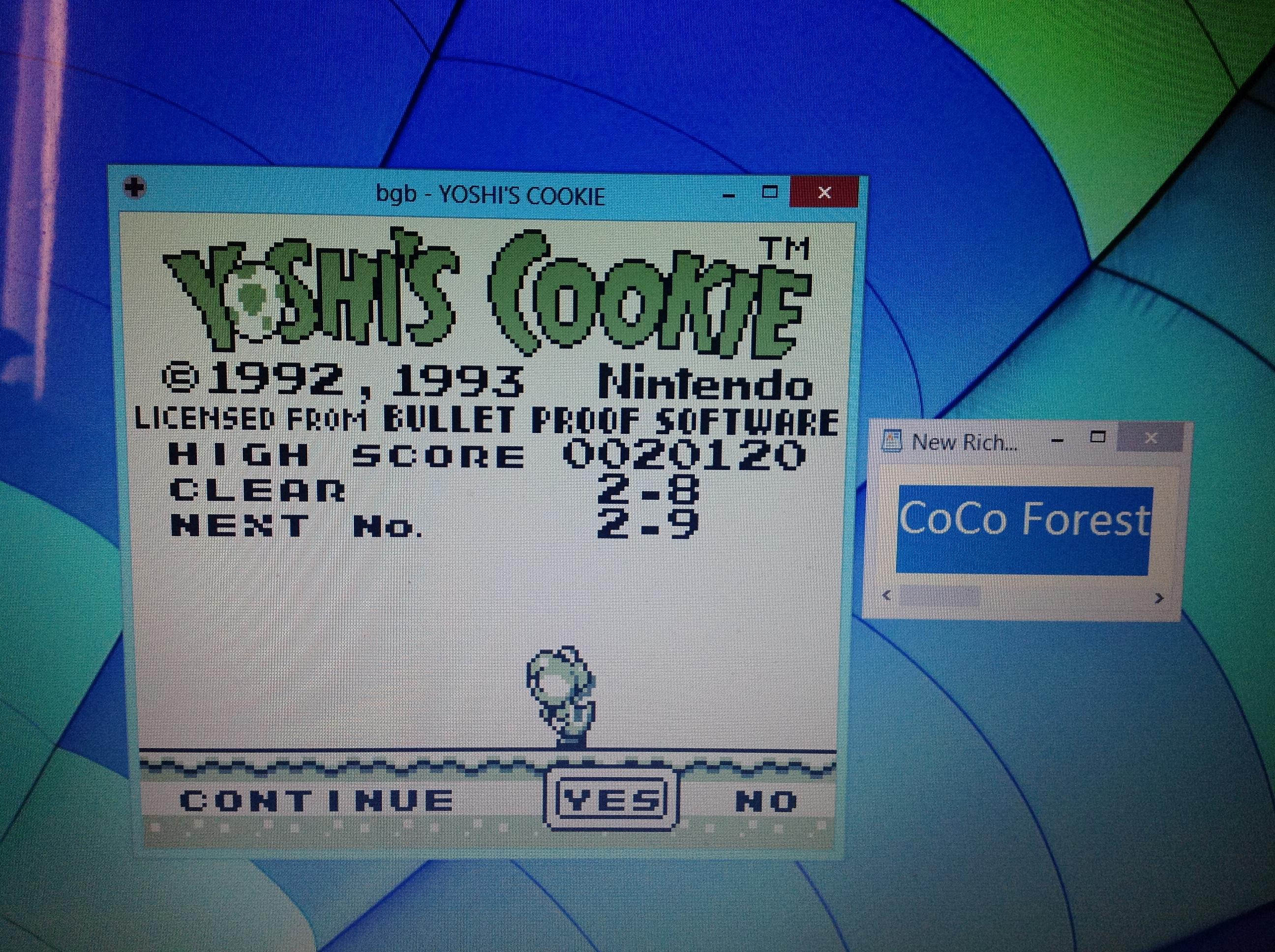 CoCoForest: Yoshi