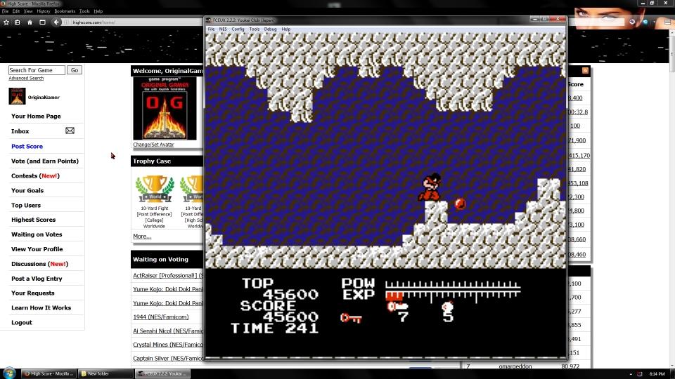 OriginalGamer: Youkai Club (NES/Famicom Emulated) 45,600 points on 2016-09-23 03:47:05