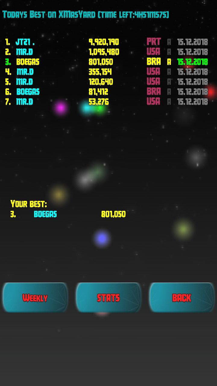 Z-Pinball: XmasYard 801,050 points