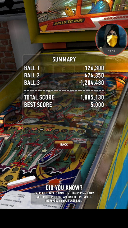 omargeddon: Zaccaria Pinball: Aerobatics (Android) 1,885,130 points on 2018-04-02 23:27:42