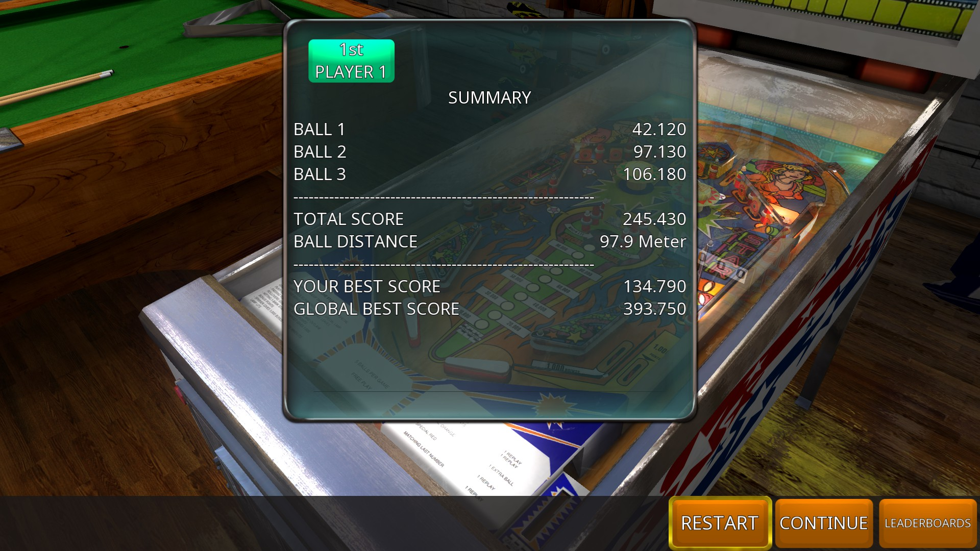 GTibel: Zaccaria Pinball: Cine Star [3 balls] (PC) 245,430 points on 2018-08-30 06:39:18