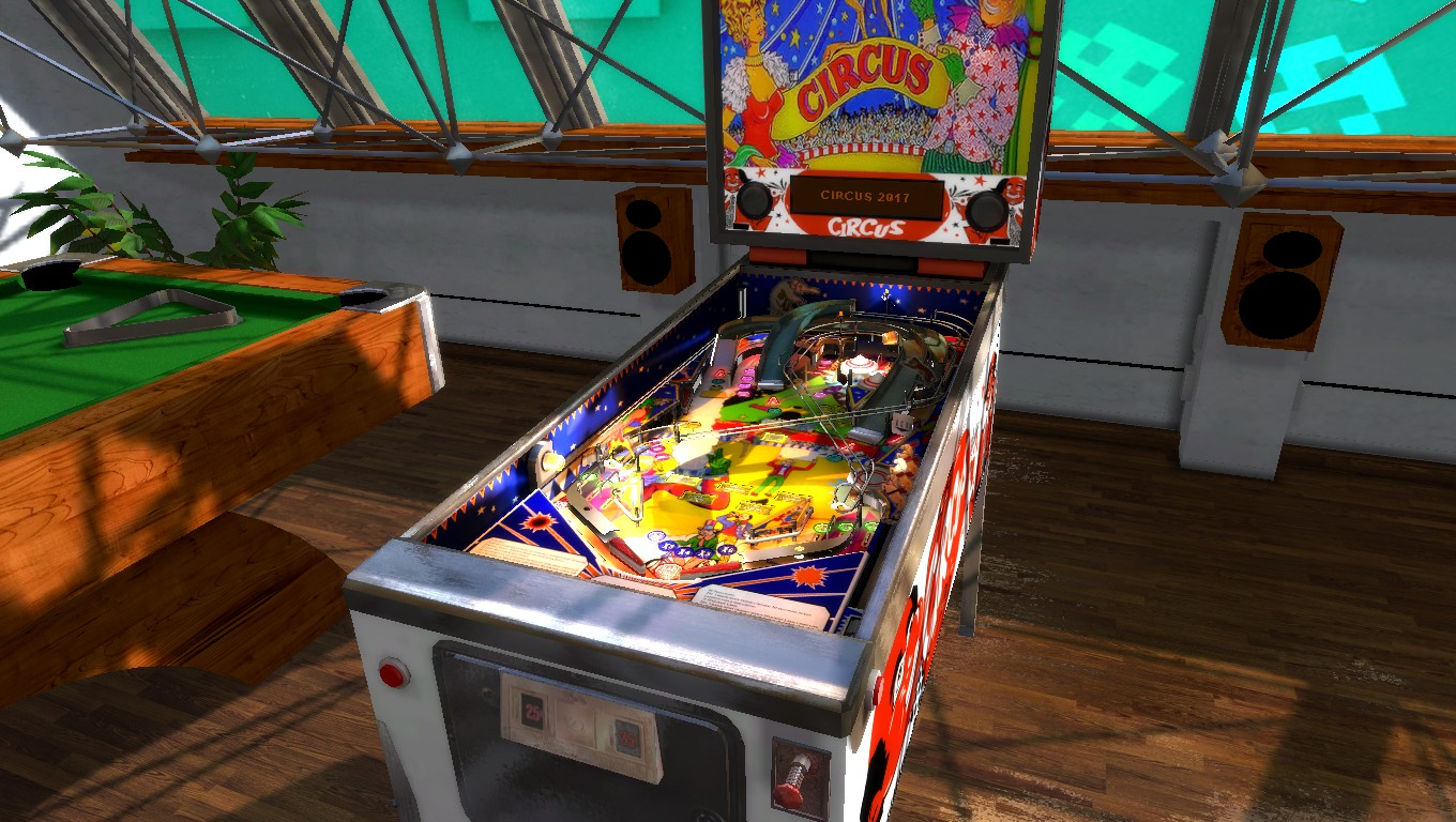 Mark: Zaccaria Pinball: Circus 2017 [3 balls] (PC) 133,701,040 points on 2018-05-31 01:42:32