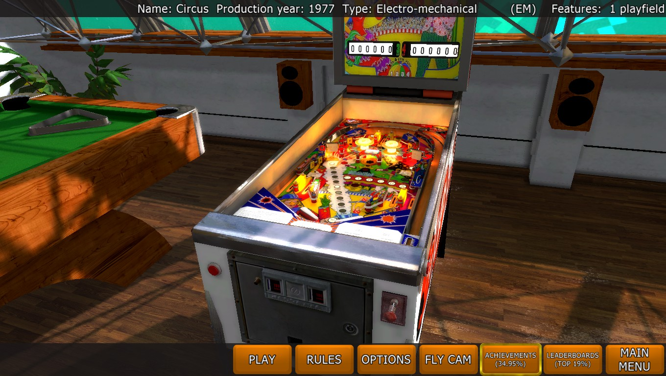Mark: Zaccaria Pinball: Circus [3 balls] (PC) 1,359,230 points on 2018-04-21 03:48:32