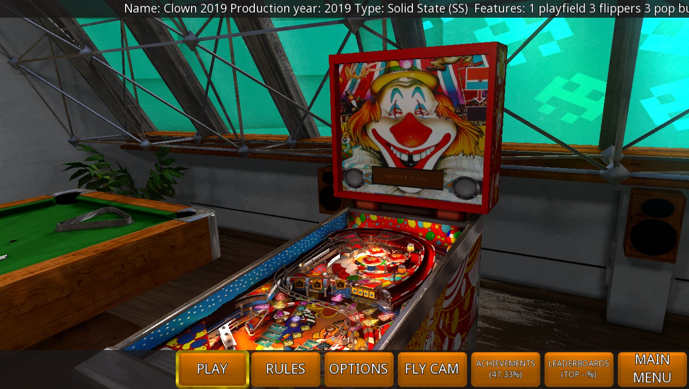 Mark: Zaccaria Pinball: Clown 2019 [5 Balls] (PC) 91,901,650 points on 2019-04-27 00:12:12