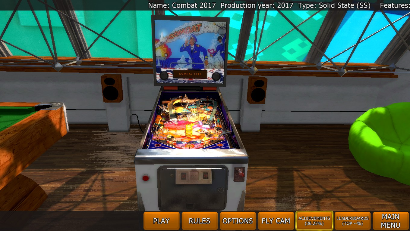 Mark: Zaccaria Pinball: Combat 2017 [3 balls] (PC) 184,452,770 points on 2018-05-01 23:39:15
