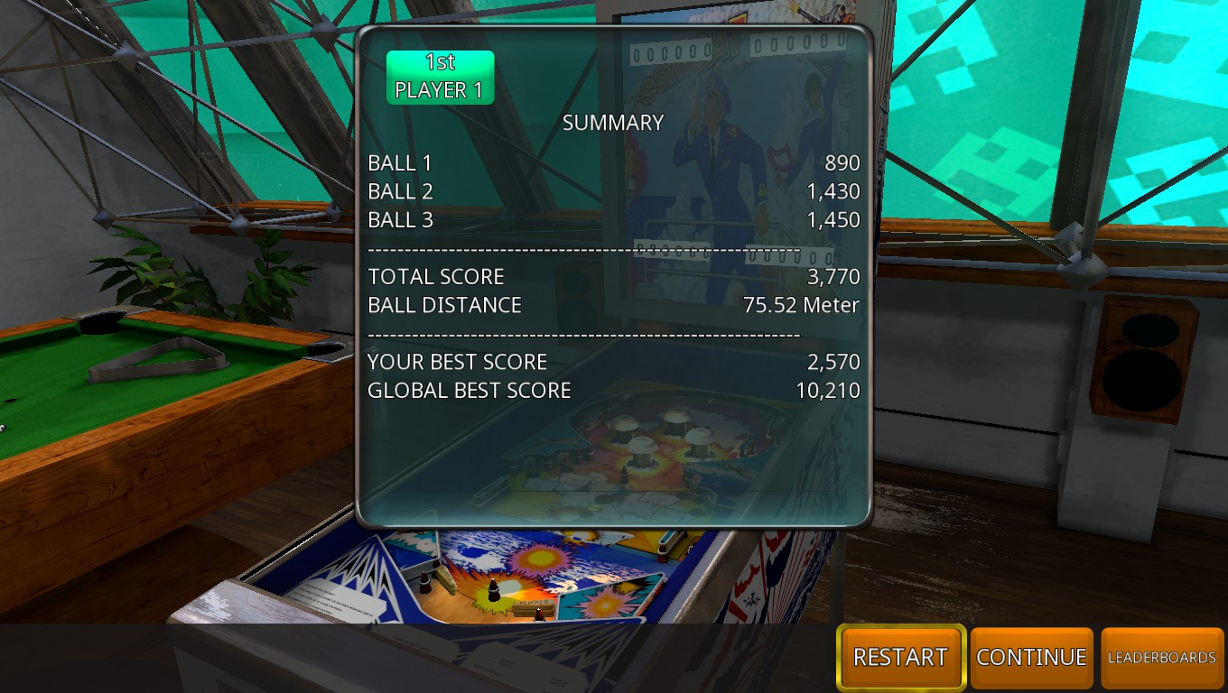 Mark: Zaccaria Pinball: Combat 2018 Retro Table [3 Balls] (PC) 3,770 points on 2018-07-26 00:52:23
