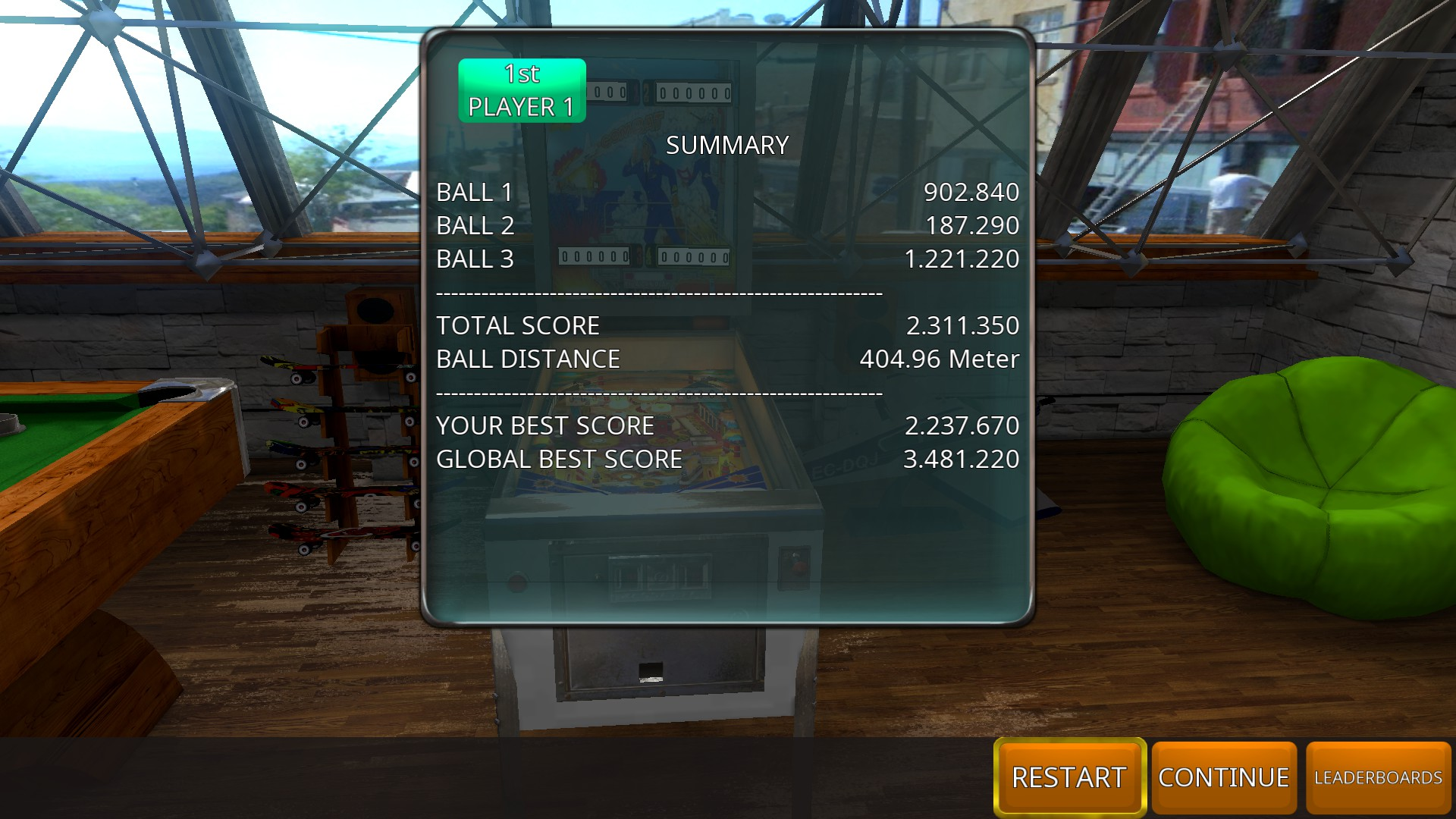 GTibel: Zaccaria Pinball: Combat [3 balls] (PC) 2,311,350 points on 2018-08-09 04:51:24