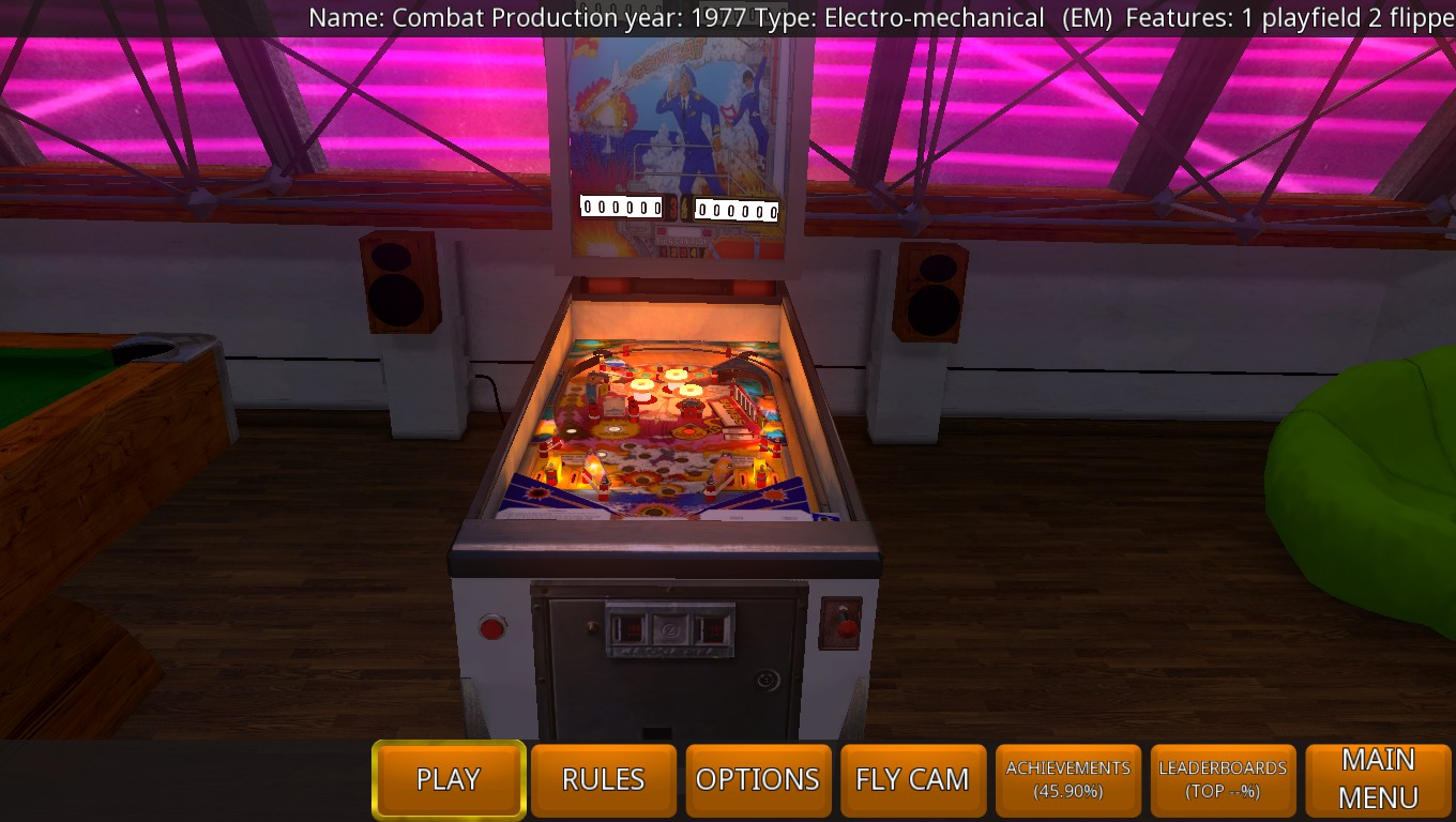 Mark: Zaccaria Pinball: Combat [5 balls] (PC) 3,193,040 points on 2018-08-14 02:40:04