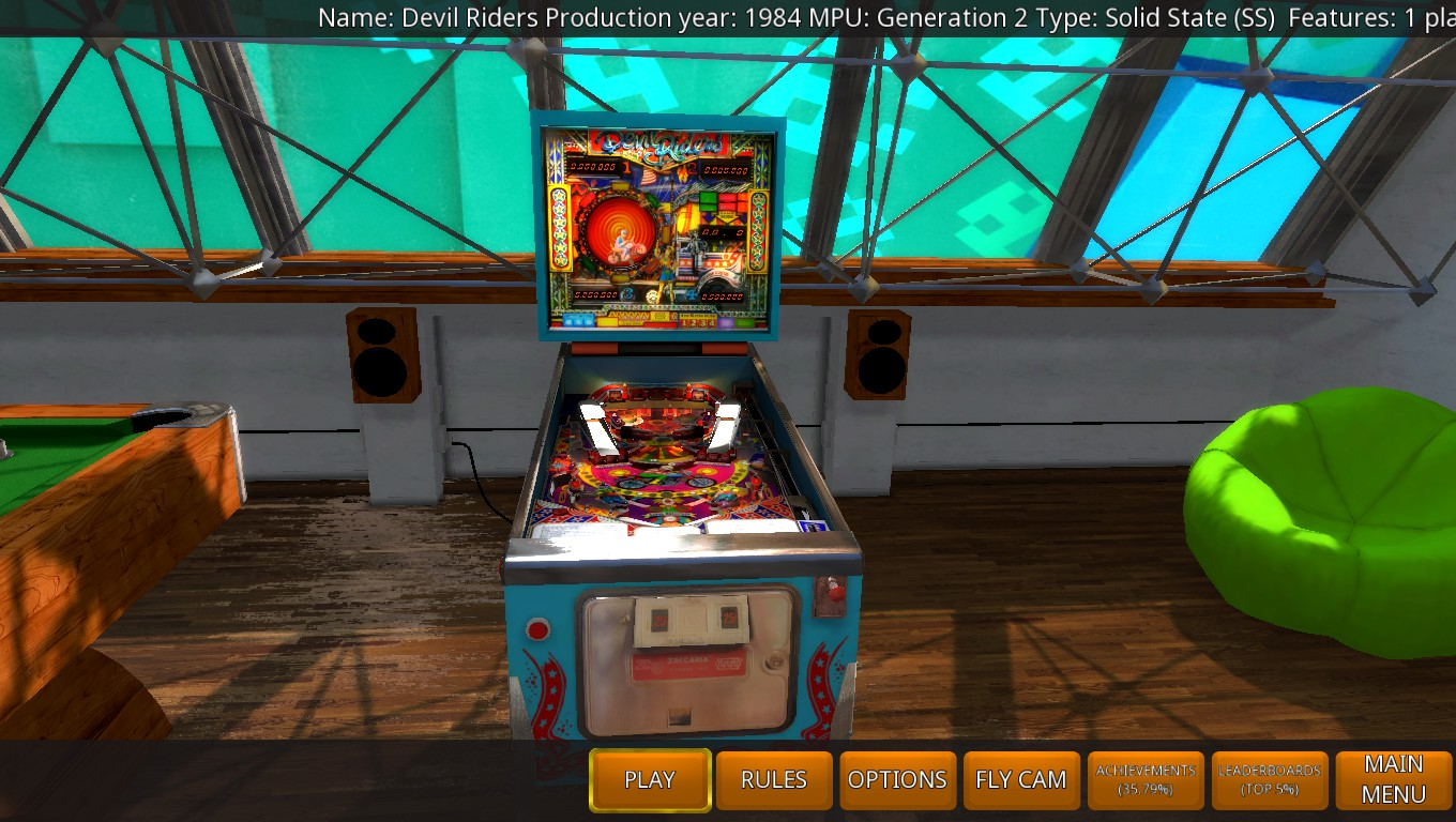 Mark: Zaccaria Pinball: Devil Riders [5 balls] (PC) 1,799,040 points on 2018-05-18 02:02:12