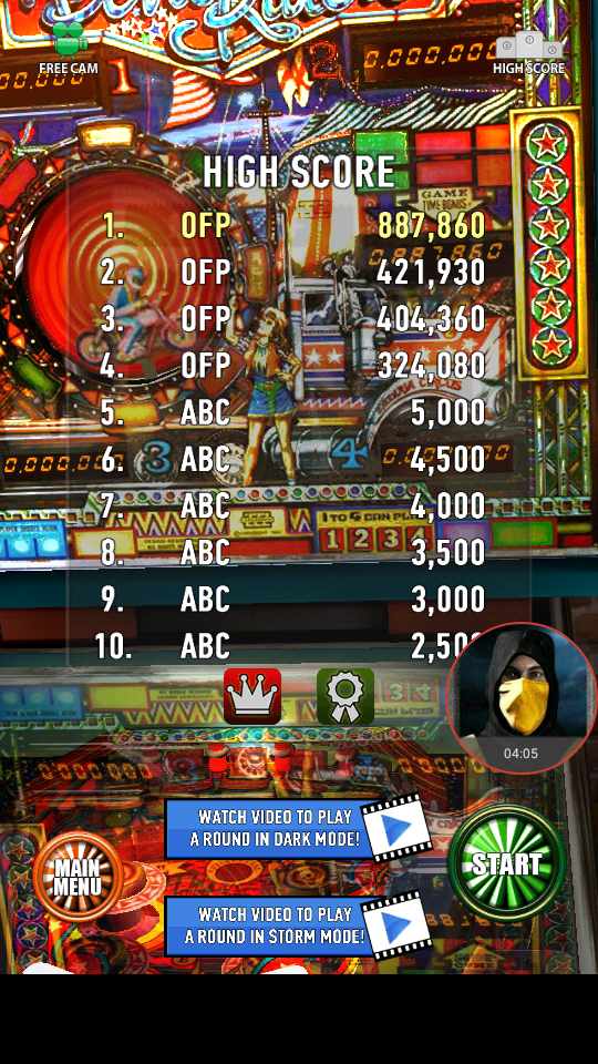 omargeddon: Zaccaria Pinball: Devil Riders (Android) 887,860 points on 2018-04-04 00:10:16