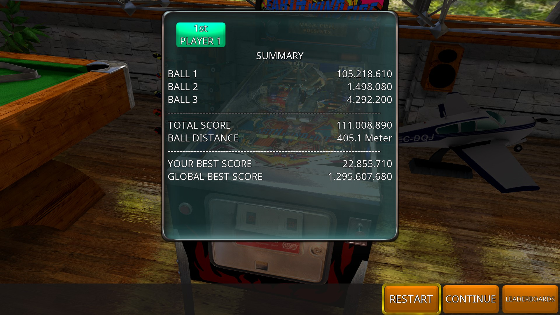 GTibel: Zaccaria Pinball: Earth Wind Fire 2017 [3 balls] (PC) 111,008,890 points on 2018-11-03 05:14:11