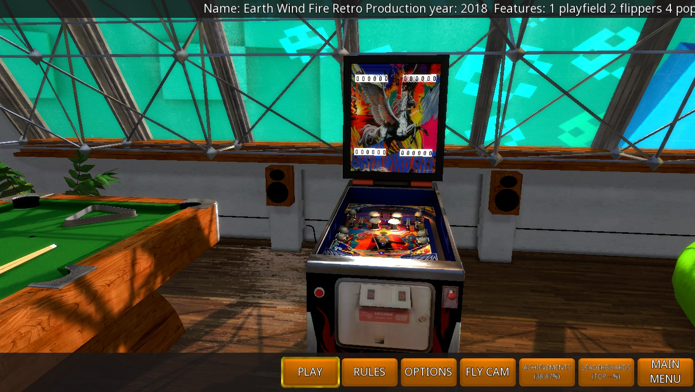 Mark: Zaccaria Pinball: Earth Wind Fire 2018 Retro Table [3 Balls] (PC) 10,810 points on 2018-05-21 00:22:01
