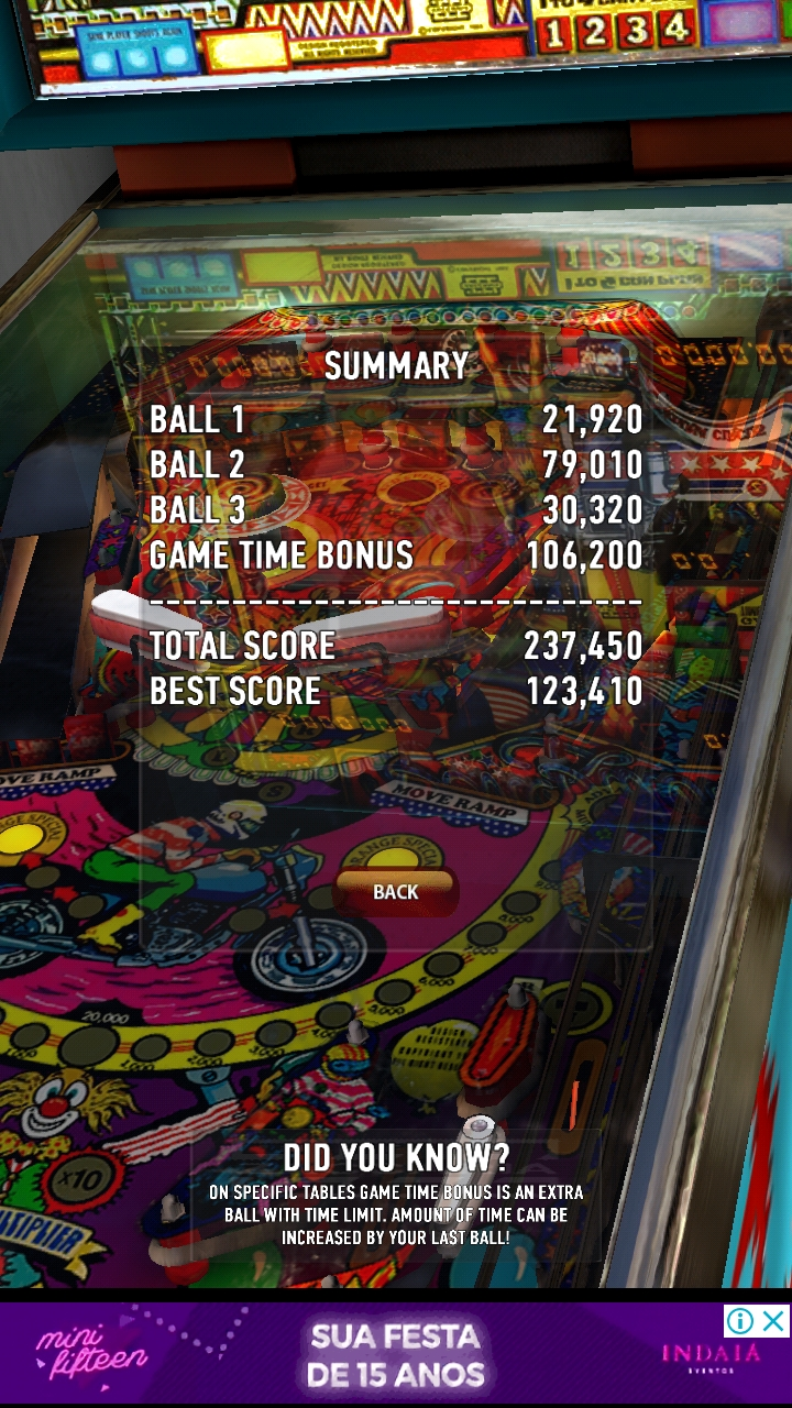 Boegas: Zaccaria Pinball: Earth Wind Fire (Android) 237,450 points on 2018-12-13 22:57:51