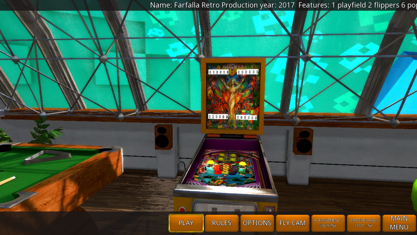 Mark: Zaccaria Pinball: Farfalla 2017 Retro Table [5 Balls] (PC) 23,640 points on 2018-05-19 03:46:15