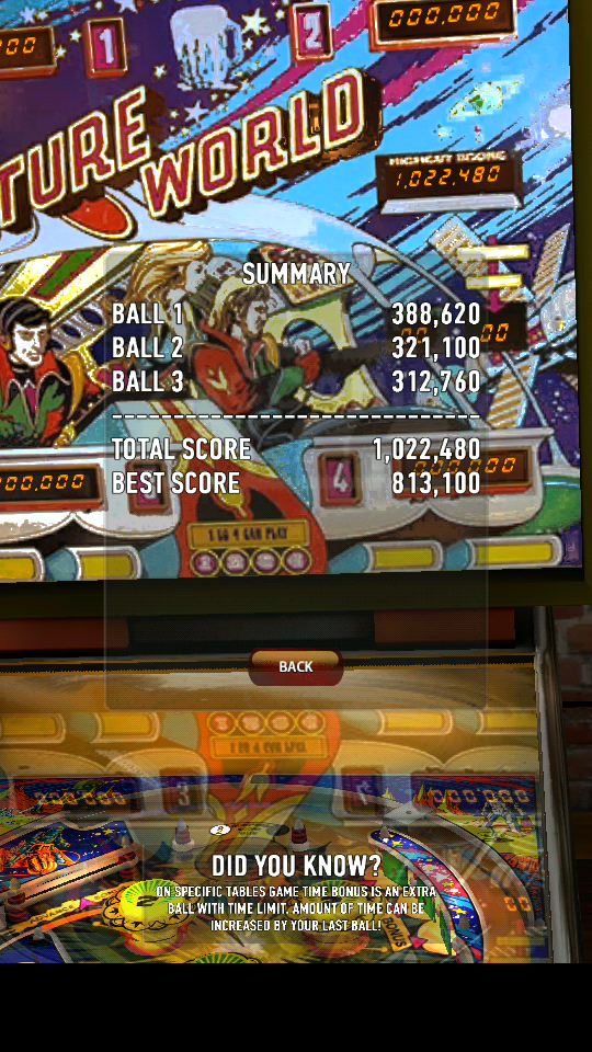 omargeddon: Zaccaria Pinball: Future World (Android) 1,022,480 points on 2018-06-03 19:19:30