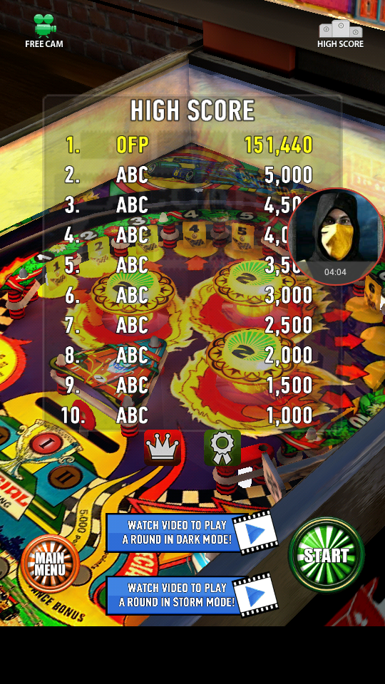 omargeddon: Zaccaria Pinball: Hot Wheels (Android) 151,440 points on 2018-04-04 00:17:14