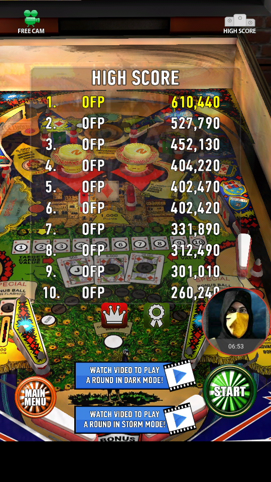 omargeddon: Zaccaria Pinball: House Of Diamonds (Android) 610,440 points on 2018-04-06 01:35:37