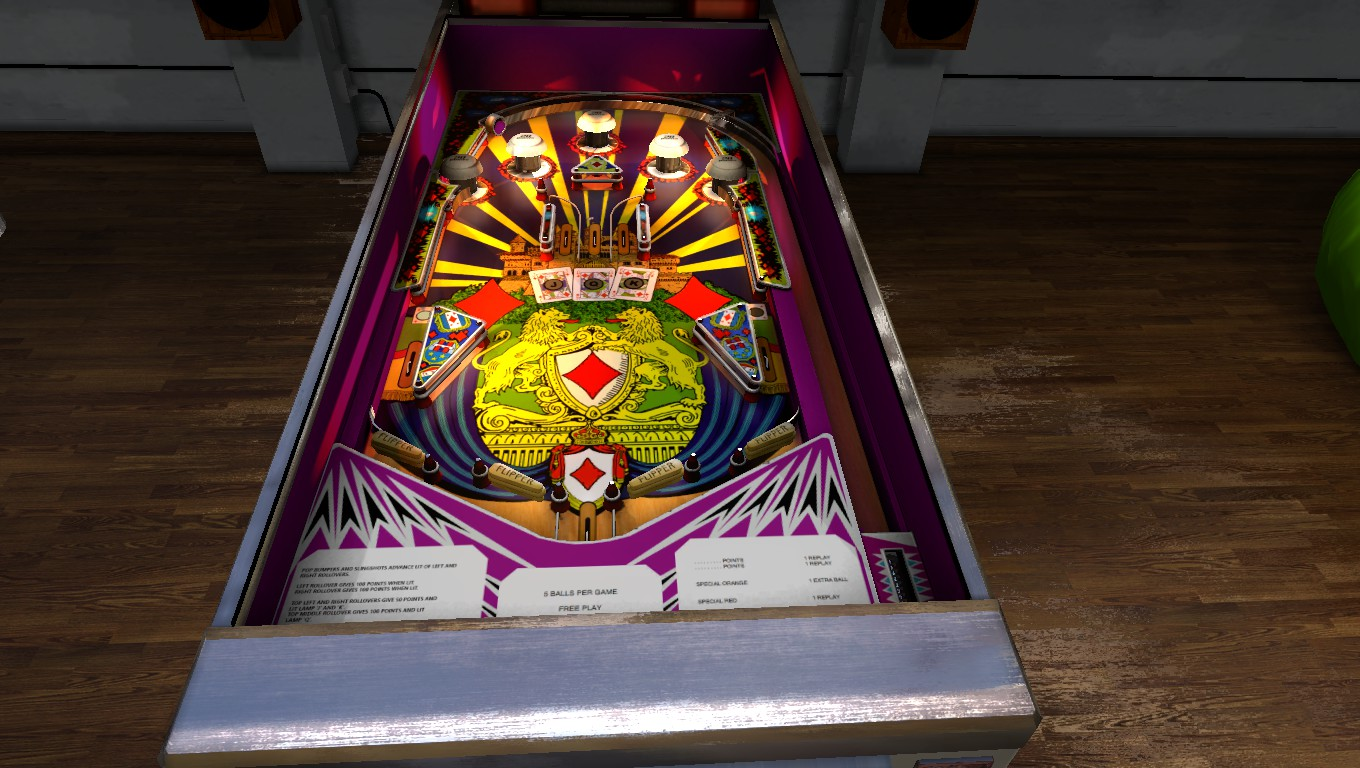 Mark: Zaccaria Pinball: House of Diamonds 2018 Retro Table [5 Balls] (PC) 2,150 points on 2018-07-25 02:45:17