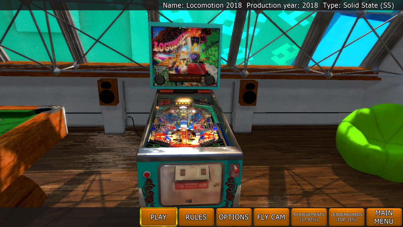 Mark: Zaccaria Pinball: Locomotion 2018 [3 balls] (PC) 61,845,300 points on 2018-05-09 23:19:43