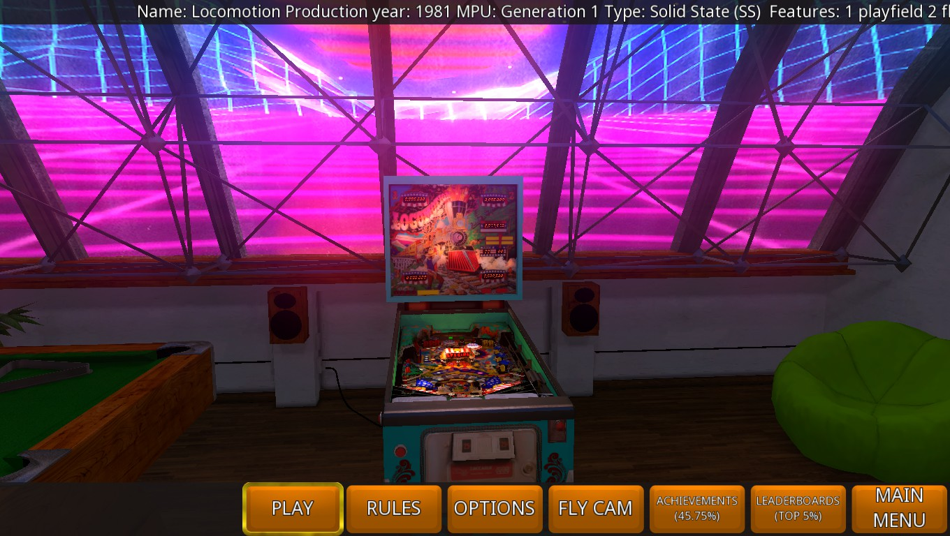 Mark: Zaccaria Pinball: Locomotion [5 balls] (PC) 606,950 points on 2018-08-12 02:40:50