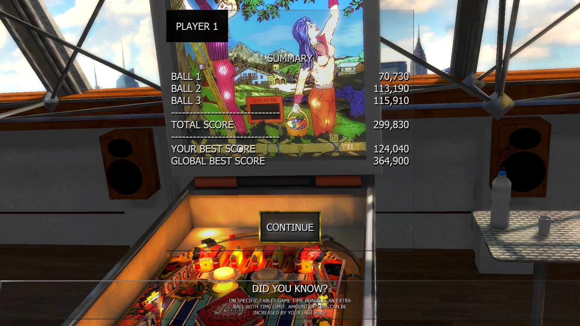 Mantalow: Zaccaria Pinball: Lucky Fruit [3 balls] (PC) 299,830 points on 2016-06-18 03:26:11