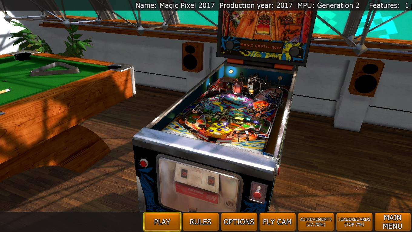 Mark: Zaccaria Pinball: Magic Castle 2017 [3 balls] (PC) 86,793,270 points on 2018-05-08 01:46:01