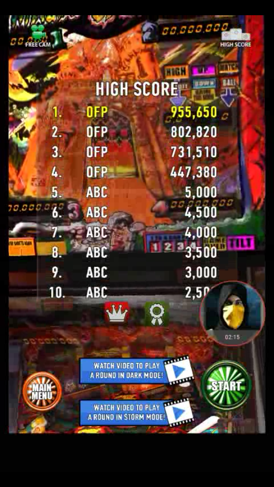 omargeddon: Zaccaria Pinball: Magic Castle (Android) 955,650 points on 2018-04-11 15:34:34
