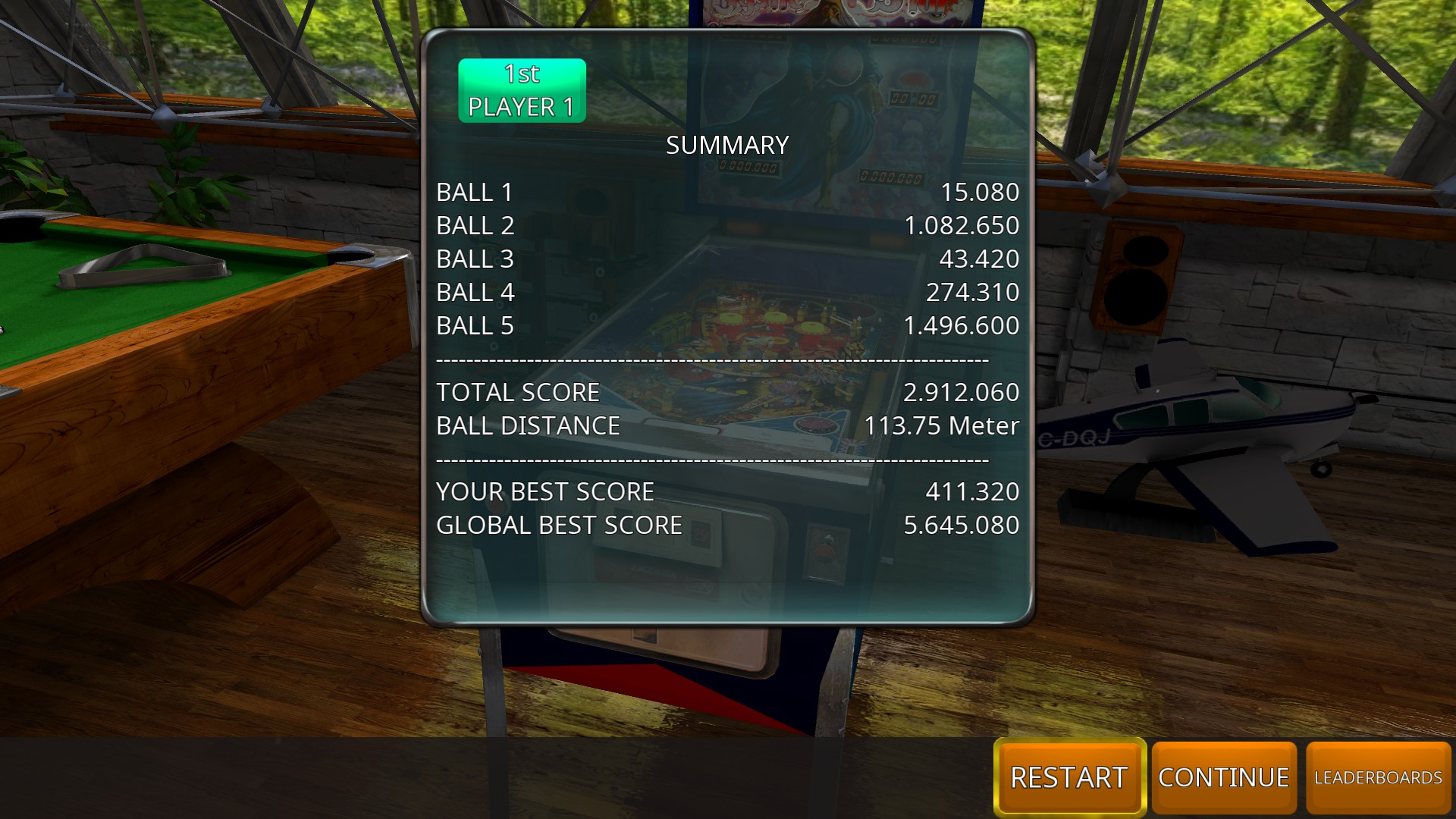 GTibel: Zaccaria Pinball: Mystic Star [5 balls] (PC) 2,912,060 points on 2018-11-03 04:42:07