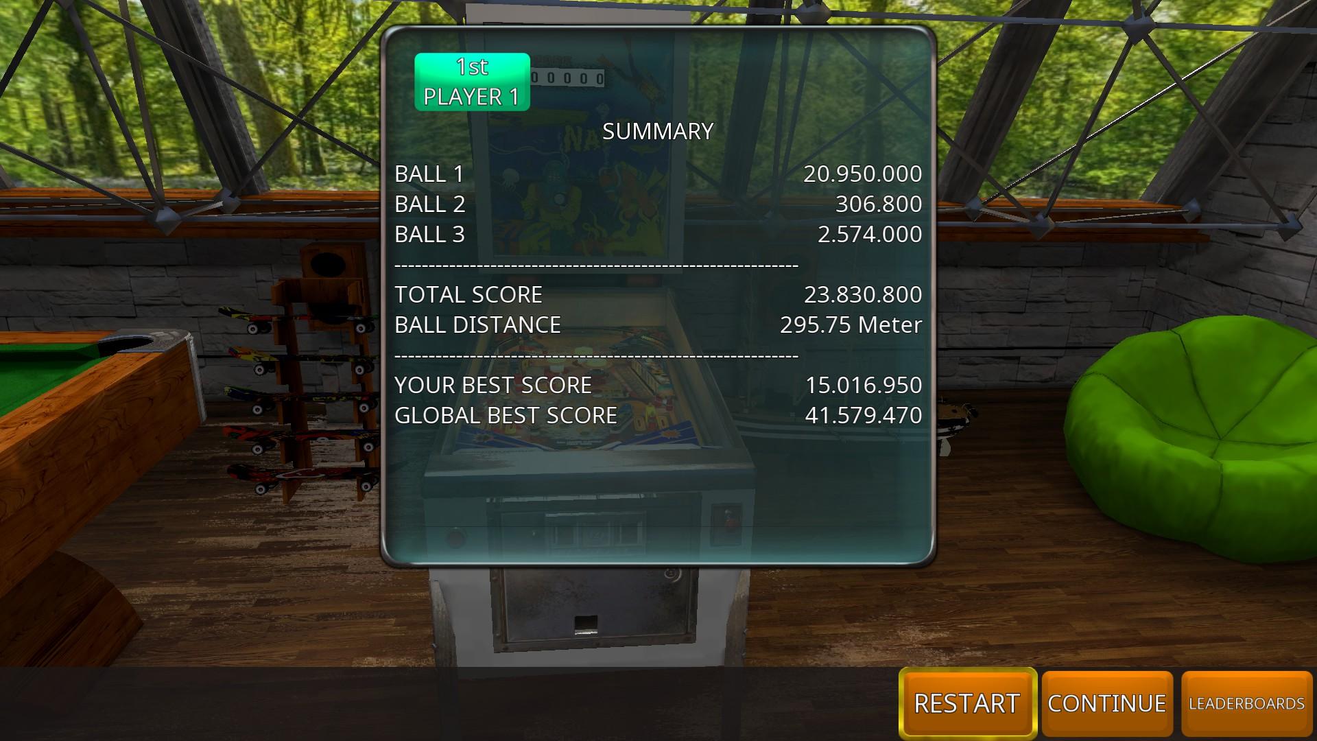 GTibel: Zaccaria Pinball: Nautilus [3 balls] (PC) 23,830,800 points on 2018-07-30 09:38:32